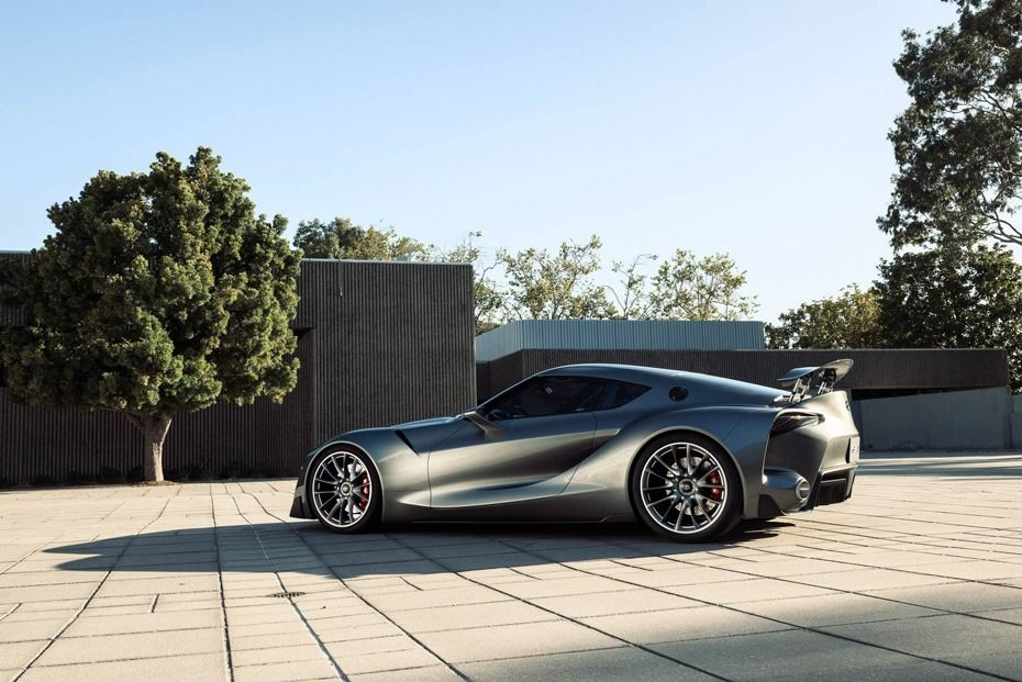 2015-Toyota-Supra-FT-1-Concept-Dark-Gray-Side-Rear