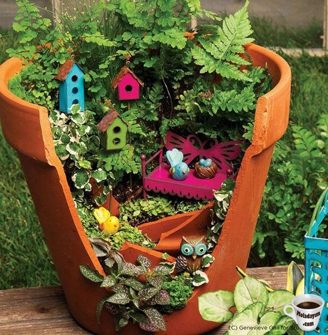 cool-broken-pot-tiny-bird-houses